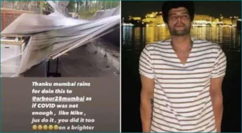 Mumbai की बारिश में इस अभिनेता का 20-25 लाख रुपये का नुकसान