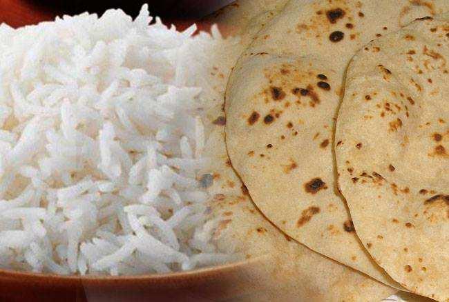 रोटी चावल